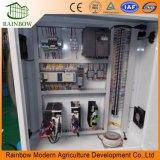 Hopfen-Tief Stahlrohr-Installationssatz-/Commercial-Polycarbonat-grünes Haus mit Kühlsystem galvanisieren