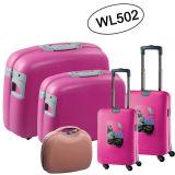 熱い販売! ! 大きい容量PP旅行ケース、荷物はセットしたWl502