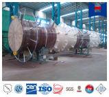 Estructura de acero de la pila del incinerador