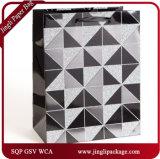 Les plus défunts sacs promotionnels de cadeau de papier de sac de sacs de transporteur de sacs en papier de mosaïque de modèle