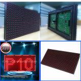 Solo módulo al aire libre rojo de la visualización de LED del color P10 32X16