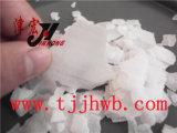 Flocos de soda cáustica usados no tratamento da água