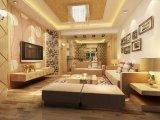 Papel de parede gravado profundo pesado do PVC do estilo clássico de Eroup para a decoração Home