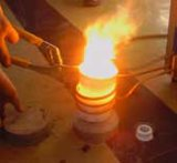 Sistema de refrigeración de agua de inducción horno Industrial fundidor de portátiles
