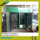 Bandeja de reciclaje de aire caliente máquina Secadora de frutas verduras