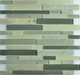 Nuovi vetro e mattonelle di mosaico della miscela dell'ardesia per la parete
