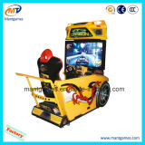 Coche de carreras juego simulador de máquina para la venta