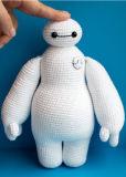 Jouet de poupée de Knit bourré par peluche de Bighero Baymax