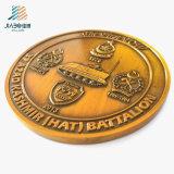 Возможность промотирования таможни 70mm чествует воинскую монетку для подарка сувенира