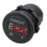 Socket del amperímetro del multímetro de la C.C. 12V-24V LED Digital para la motocicleta del vehículo del barco