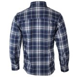Fabricante de ropa personalizada de los hombres Plaid camisas de mangas largas formal