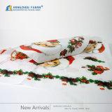 Papier d'emballage mignon de type de Noël de logo