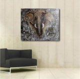 ホーム装飾のための象の油絵