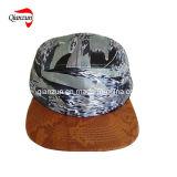 Chapéus supremos ajustáveis do acampamento do Snapback liso do algodão