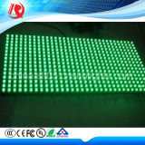 Módulo ao ar livre verde do indicador de diodo emissor de luz do pixel 10mm da cor da função do texto