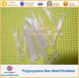 Polipropileno reforzado con fibra de hormigón y mortero