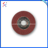 研摩の折り返しディスクを紙やすりで磨く高品質の上塗を施してある研摩のステンレス鋼