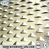 장식적인 관통되는 금속 알루미늄 메시 관통되는 스크린