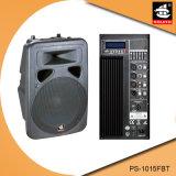 15 duim Bluetooth 5 de Plastic Actieve Spreker van de Band EQ met FM pS-1015fbt