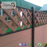 Heißes verkaufendes im Freien feuerbeständiges Zaun-Panel des Garten-WPC