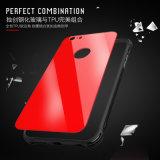 Nueva cubierta del iPhone del caso del iPhone X del vidrio Tempered