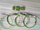 Cordons de connexion de fibre de PVC Om5 du duplex 2.0mm de LC/Upc-LC/Upc