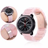 Riem 22mm van het horloge voor het Roze van de Band van het Horloge van de Armband van de Hars van Samsung S3