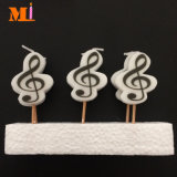 Attractive Appearance Note Shape Cute Birthday Candle for Decoration