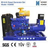 80kVA conjunto gerador a diesel com motor Googol 50Hz