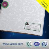 2つの溝によって薄板にされる表面PVC天井板の熱い販売