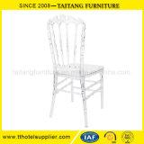 Cadeira desobstruída plástica do casamento da cadeira do castelo da cadeira