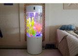 Qcy criativos personalizados de atacado do tanque de peixes em acrílico transparente