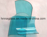 Le verre trempé de sécurité en verre incurvé 10mm refoulées en verre trempé