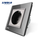 Livolo bestätigte elektrische Anschluss Schuko Wand-Kontaktbuchse EU-16A (VL-C7C1EU-15)
