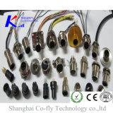 Женское прямое электрическое водоустойчивое M12 2, 3, 4, 5, 6, 8, 12, 17, разъем Pin 19