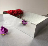 Cadre acrylique de fleurs de miroir d'usine pour 9 16 25 36 roses