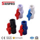 ASTM/DIN de plastic Kogelklep van het Handvat CPVC