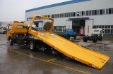 Dongfeng 4*2 3tons man tragen die zwei Flachbett-Straßewrecker-LKW für Verkauf
