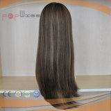 Peluca judía superior de seda de las mujeres del pelo de Braizlian (PPG-l-01734)