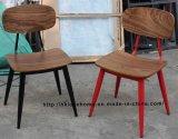 Réplique Restaurant métal Café Sean copine Dix chaise en bois