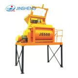 Heet verkoop Js 500 de Concrete Mixer van de Dieselmotor