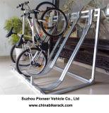 Гальванизированный Semi-Вертикальный шкаф стоянкы автомобилей Bike