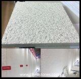 حجارة طبيعيّة بيضاء مجمرة يفرش صوّان لؤلؤة أبيض لوح