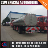 16cbm에 의하여 격리되는 우유 유조 트럭, 신선한 우유 납품을%s 유조 트럭, 판매를 위한 6*2 우유 트럭