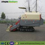 Wishope 4lz-4.0のゴム製クローラー水田の切断の収穫者機械米の収穫機