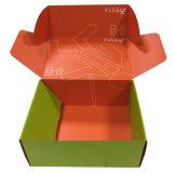 Tamanho grande feito sob encomenda caixa ondulada colorida da caixa