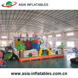 Outdoor Inflatable Cartoon Playground with Slide/Inflatable Funny City