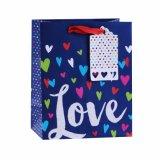 De Zakken van het Document van de Gift van de Winkel van de Cake van de Schoonheidsmiddelen van de Chocolade van de Liefde van de Dag van de valentijnskaart