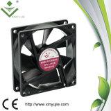 심천 높은 기류 80X80X25 8025 DC 무브러시 Xinyujie 냉각팬