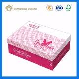 Soem-bunte Schuh-Papierkasten/verpackenkasten (Kappe und niedriger steifer Kasten)